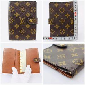 😍Authenticate Louis Vuitton Diary Cover Agenda PM